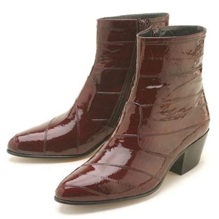 Boot Zipper Marron product vt73 burgundy maroon wine color eel zipper boot