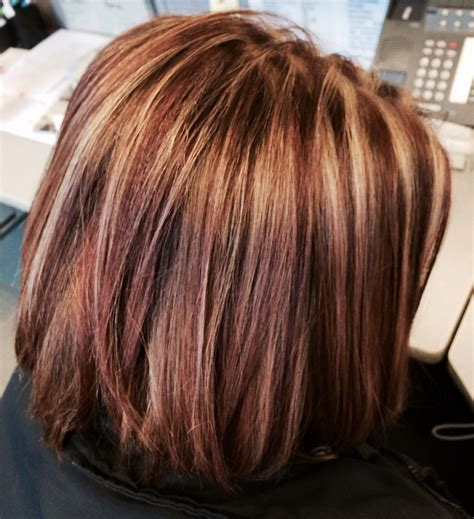 chocolate red hair on pinterest red blonde highlights brown hair with caramel highlights and red highlights