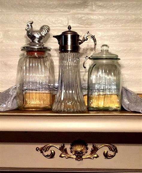 glass kitchen storage canisters 1000 ideas about glass canisters on canisters