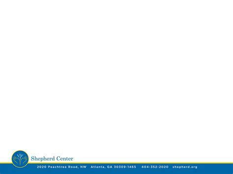 white powerpoint template shepherd center media kit copy rights shepherd media