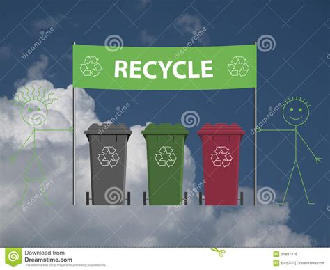 banner design recycle recycling banner royalty free stock image image 31887316