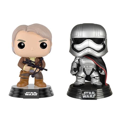 Funko Pop Wars Episode 7 The Awakens Luke Skywalker funko pop wars episode vii bobbleheads thinkgeek