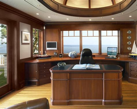 beach style office desk home office traditional home office decorating ideas