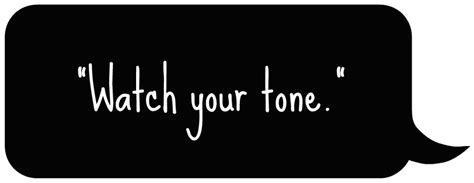 tone on tone tone matters