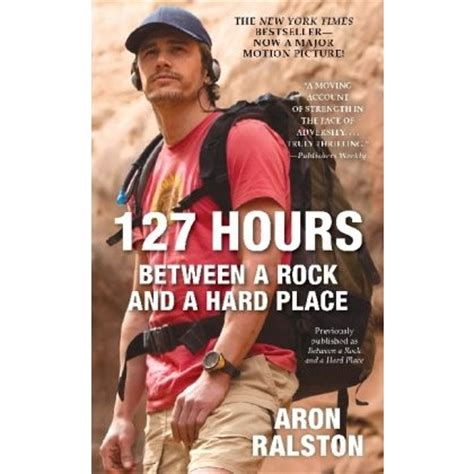 rock and a place books 127 hours between a rock and a place non fiction