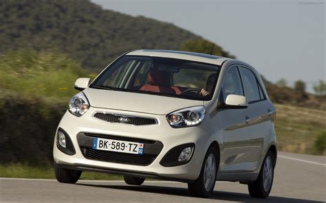 Kia Oicanto Kia Picanto 2012 Widescreen Car Wallpaper 09 Of 82