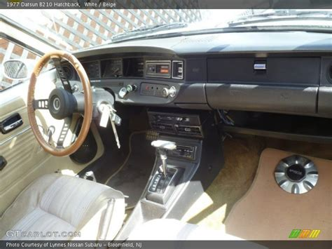 Home Interior Shows 1977 b210 hatchback beige interior photo no 78490260