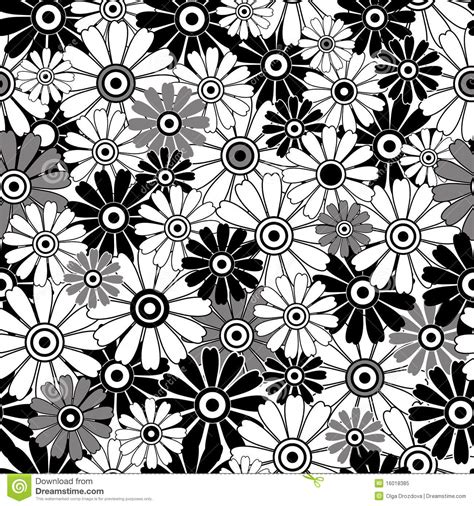 pattern flowers black and white flower patterns black and white
