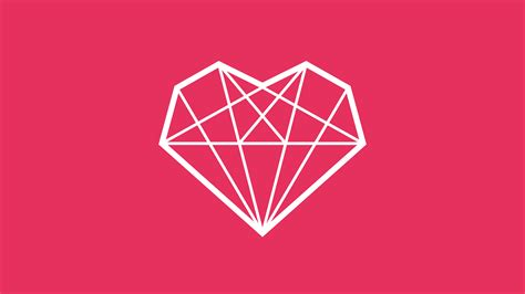 adobe illustrator diamond pattern how to draw a diamond heart icon in adobe illustrator tutorial