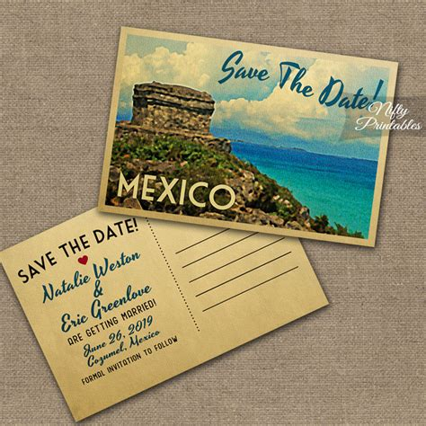 save the date destination wedding template free sle destination wedding save the date postcards best designing template view skyline