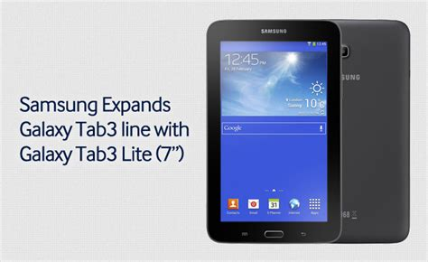Samsung Galaxy Tab 3 Lite Second samsung expands galaxy tab3 line with galaxy tab3 lite 7 samsung global newsroom