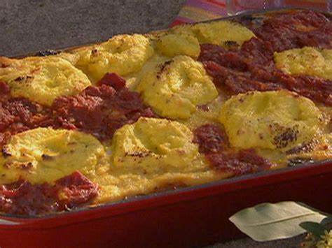 polenta lasagne recipe michael chiarello food network
