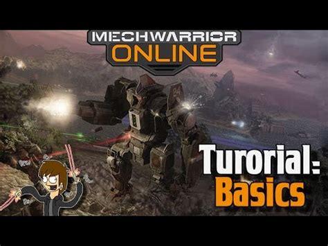 Tutorial Mechwarrior Online   mwo tutorial 1 basics of mechwarrior online for