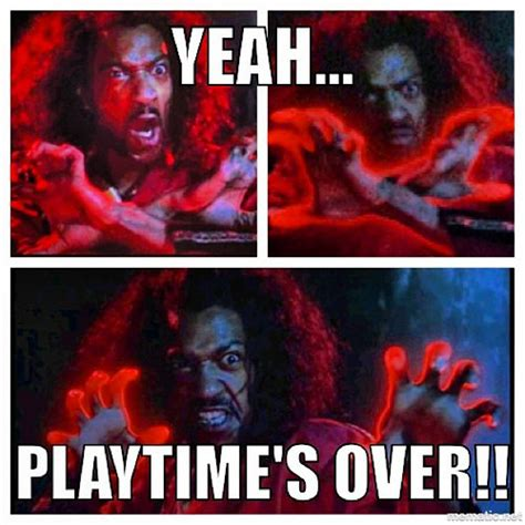 Sho Nuff Meme - quot playtime s over boy quot sho nuff the last dragon 1985