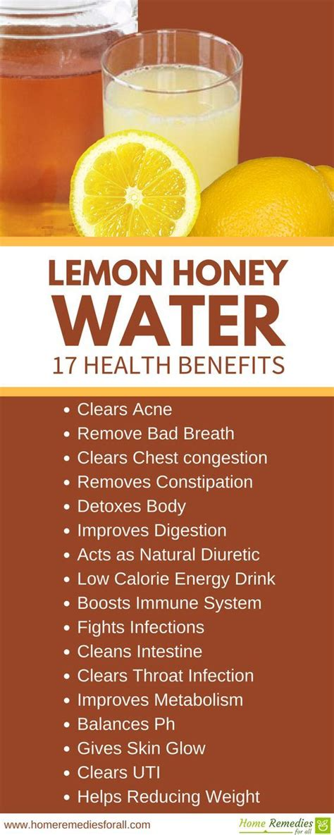 Lemon Honey Detox Drink by 25 Best Ideas About Honey Lemon Water On
