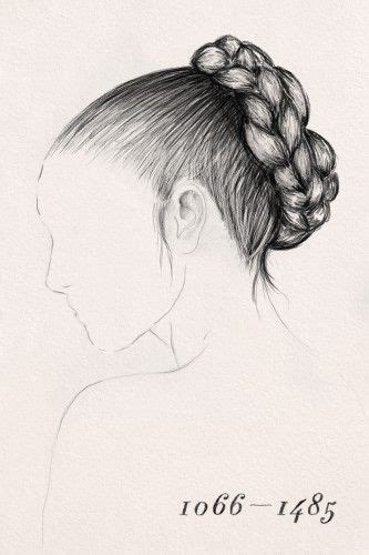 history of the fish tail braid 101 best drawings hair images on pinterest faces draw