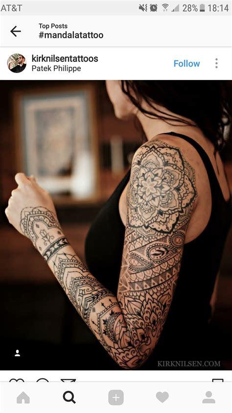 indian henna tattoo sleeve mandala sleeve tattoos mandala