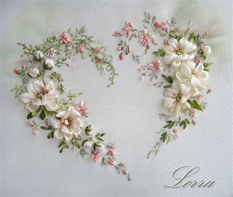 embroidery ribbon 509 best ribbon embroidery images on
