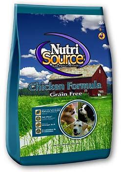 nutrisource food grain free food chicken nutrisource