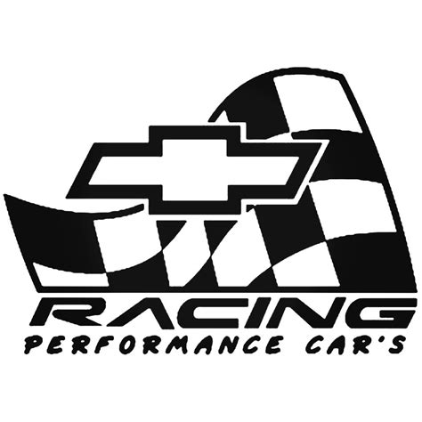 Tuning Sticker Vector by Chevy Racing Logo Vector Aftermarket Decal Sticker