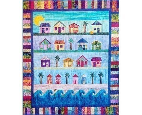 Quilt Pattern Beach House | beach cottages quilt pattern fabrics pinterest