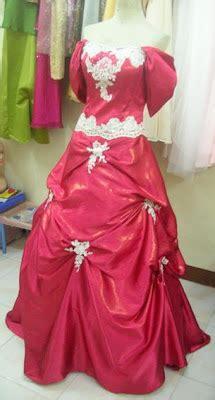 Kebaya Gaun Merah Pensiun Salon payet gaun pesta desain baju pesta kebaya modern dan gaun pengantin agustus 2010