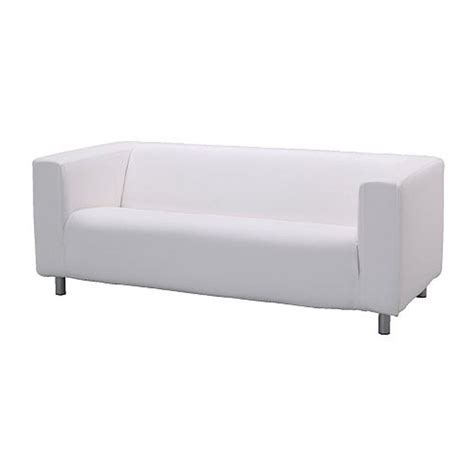 ikea white slipcover couch ikea klippan sofa slipcover cover alme white 100 cotton
