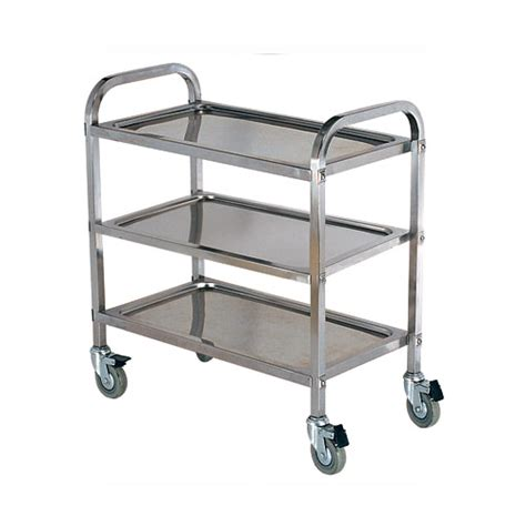 Kitchen Island Trolley Malaysia Stainless Steel Food Trolley 2 Tier 3 Tier Kitchentech