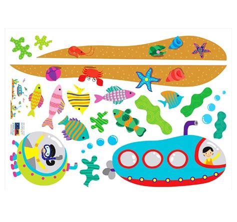 Wandtattoo Kinderzimmer Putz by Wandsticker Wandtattoo Unterwasserwelt U Boot Kinderzimmer