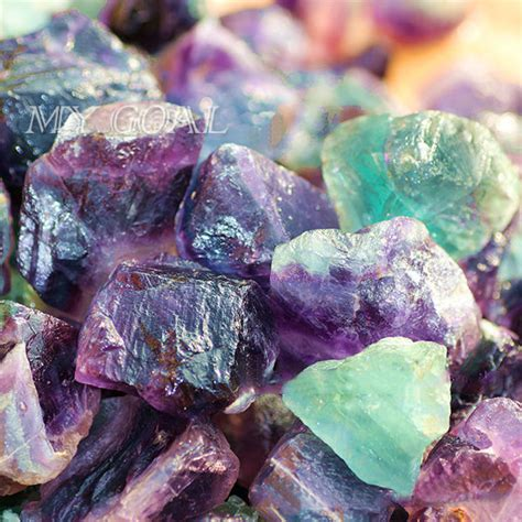 gemstone home decor 100g natural rare fluorite crystal stone rock gemstone