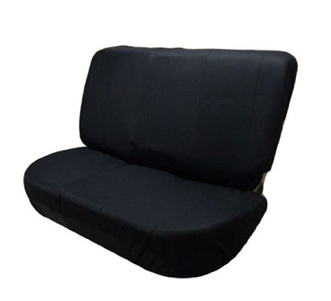 universal bench seat cover fh group universal bench seat cover 40 60 split and 50 50