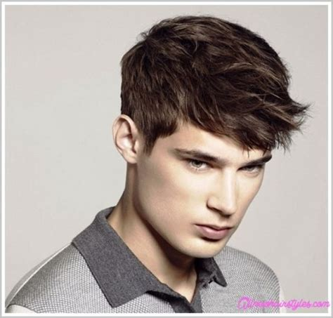 cool hairstyles with fine hair boys short haircuts for men with thin straight hair