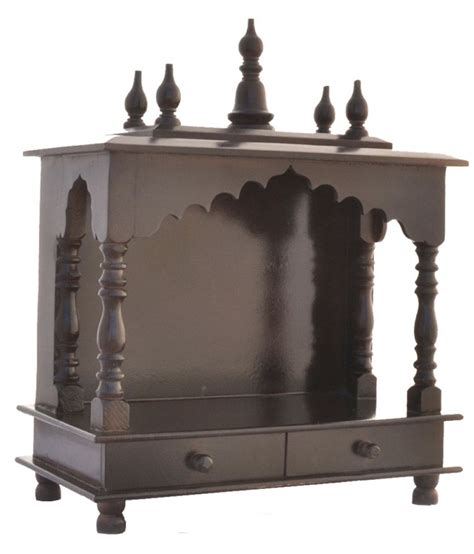 jodhpur handicrafts brown wooden pooja mandir best deals