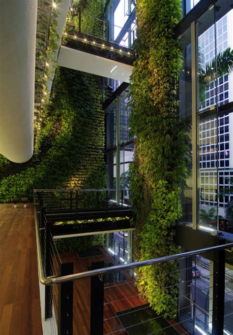 cool vertical garden walls home design  interior