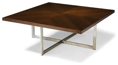 Square Coffee Table Modern Export Square Cocktail Table From Thayer Coggin Modern Coffee Tables By Thayer Coggin