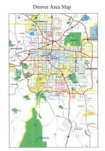 metro denver area map