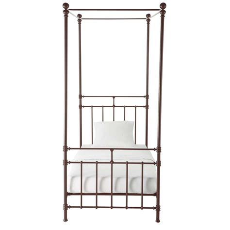 twin size canopy bed canopy bed twin size syracuse syracuse maisons du monde