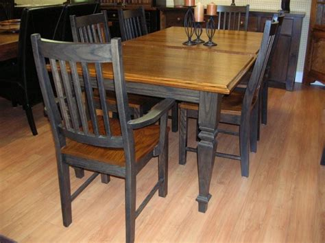 Oak Kitchen Table And Chairs Dining Room Tables On Pinterest Kitchen Tables Farm