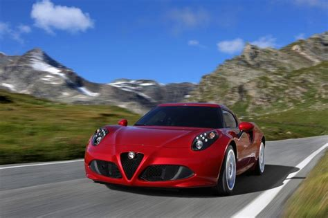 Alfa Romeo 4c Release Date by 2014 Alfa Romeo 4c Driving Release Date Review Price