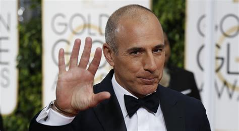 What Man Does Matt Lauer Think Is So Handsome   matt lauer fired from nbc news the today show host hid