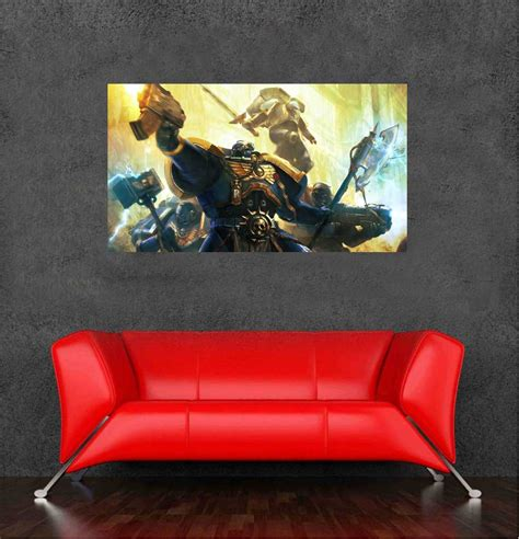 Posters For Bedroom Walls India 2016 Warhammer 40k Wallsticker Posters For Walls Bedroom