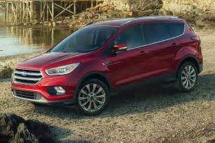 Ford And Ford 2017 Ford Escape Reviews And Rating Motor Trend