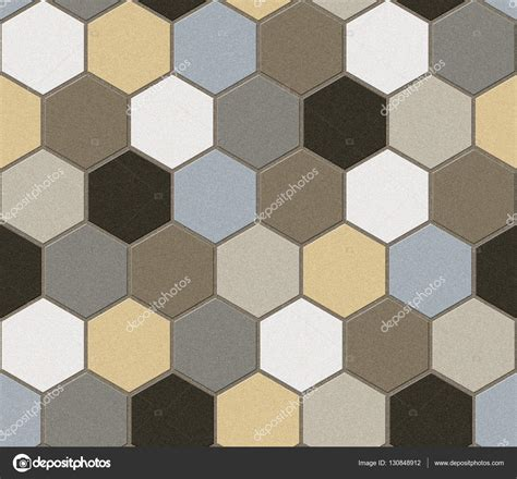 fliese patchwork hexagonal tiles patchwork seamless texture stock
