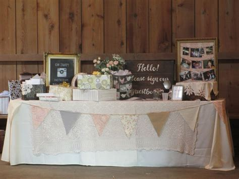 the gift table weddings at genesee country