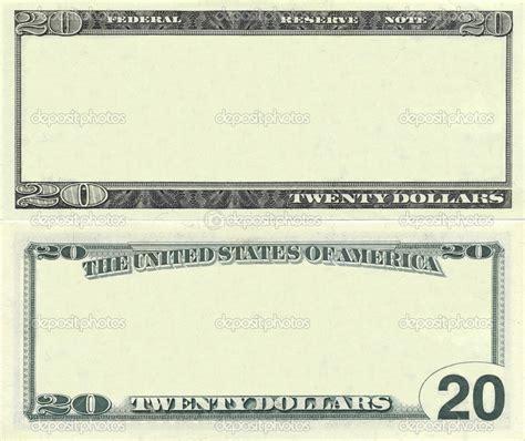 best photos of 20 dollar bill blank template blank 20