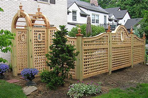 Design For Lattice Fence Ideas Design Of Lattice Fence Design For Your Garden Homesfeed
