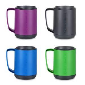 travel mug lifeventure ellipse insulated thermal travel mug 350ml keeps drinks lid ebay