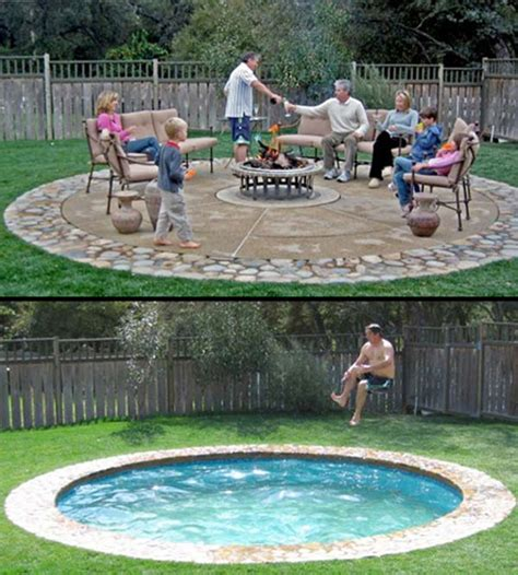 28 Fabulous Small Backyard Designs With Swimming Pool Swimming Pool In Small Backyard