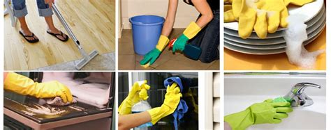 the various types of residential cleaning services