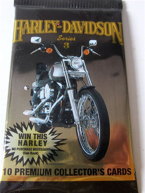 Where Can You Buy Harley Davidson Gift Cards - harley davidson chronicles hobby 1993 collector cards gift